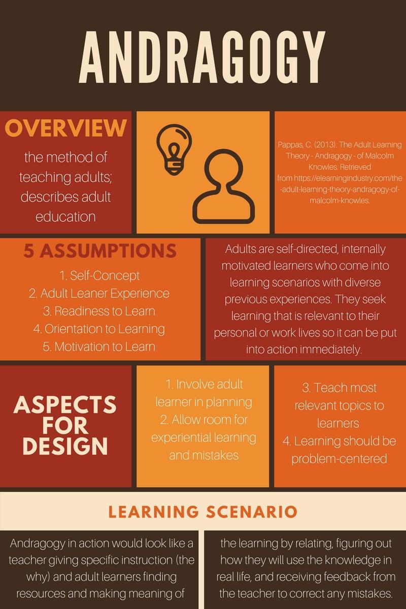 Andragogy learning principle Adult